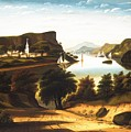 Lake George And The Village Of Caldwell by Thomas Chambers