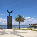 Lake Monroe At The Port Of Sanford Florida by Allan  Hughes