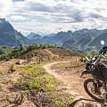 Landscape Around Kasi In North Laos by Didier Marti
