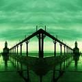 Lighthouse Reflections by Scott D Van Osdol