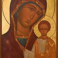 Madonna And Child Christian Art by Carol Jackson