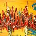 Manhattan by Mark Kazav
