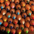 Multicolored Pencils  by Jim Corwin