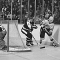 Nhl Hockey At The Pacific Coliseum by Steve Tobus