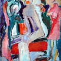 Panting by Ibrahim El tanbouli