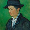 Portrait Of Armand Roulin by Vincent Van Gogh