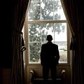 President Barack Obama Looks by Everett