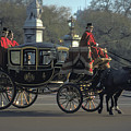 Royal Carriage In London by Carl Purcell