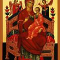 Saint Mary Christian Art by Carol Jackson