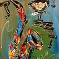 Saxophone by Mark Kazav