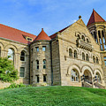 Stewart Hall At West Virginia University by Cityscape Photography