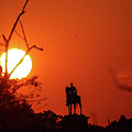 Sunrise At Gettysburg by William Rogers