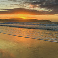 Sunrise Seascape At The Beach by Merrillie Redden