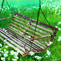 Swing In The Daisies by David Arment