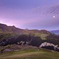 Swiss Alps In The Night by Angel Ciesniarska