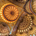 The Blue Mosque Istanbul  by David Pyatt