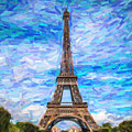 The Eiffel Tower by Artistic Panda