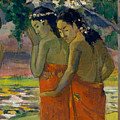 Three Tahitian Women by Paul Gauguin