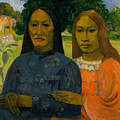 Two Women by Paul Gauguin
