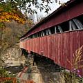Vermont Covered Bridge by John Greim