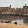 View Of Delft by Jan Vermeer