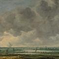 View Of Haarlem And The Haarlemmer Meer by Jan van Goyen