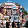 Village Of Coba by Carol Ailles