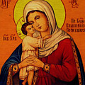 Virgin And Child Painting Religious Art by Carol Jackson