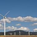 Wind Turbine Farm by Jim Corwin