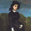 Woman In A Riding Habit by Gustave Courbet