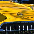 Yellow Corvette by Dean Ferreira