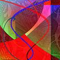 504 - Patterns  2017 by Irmgard Schoendorf Welch