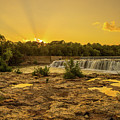 Grand Falls Waterfall by Michael Munster