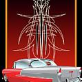 55 Chevy Pinstriping by Tony Perez
