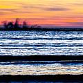 Sunset Bay Beach by Angus Hooper Iii