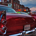 '56 Dodge On Beale  by Lance Vaughn