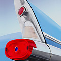 57 Pontiac Tail Fin by MOTORVATE STUDIO Colin Tresadern