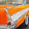 '57 Tangerine by Pamela Anderson