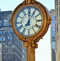 5th Avenue Building Clock - New York by Marianna Mills