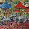 5th  Street Market Tables by Todd Artist
