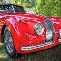 1954 Jaguar Xk 120 Se Ots  by Rich Franco
