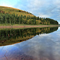 Autumn Derwent Reservoir Derbyshire Peak District by Dave Porter