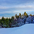 Beautiful Winter Landscape At Timberline West Virginia by Alex Grichenko