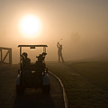 California Golf Course Sunrise Morning Golfers by ELITE IMAGE photography By Chad McDermott