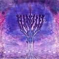 Chanukkah Lights by Sandrine Kespi