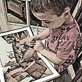 Children Series by Ginger Geftakys