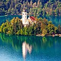 Church Of The Assumption - Lake Bled, Slovenia by Joseph Hendrix