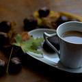 Coffee With Milk For Cold Autumn Days by Newnow Photography By Vera Cepic