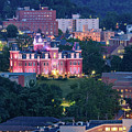 Downtown Morgantown And West Virginia University by Cityscape Photography