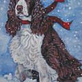English Springer Spaniel by Lee Ann Shepard